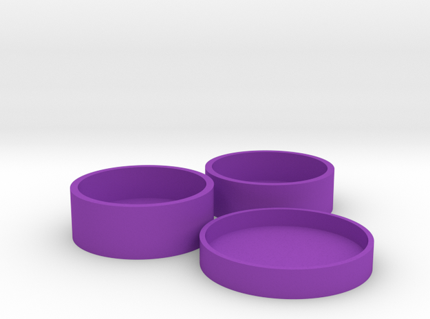 Okito Boston Set USA Quarter in Purple Processed Versatile Plastic