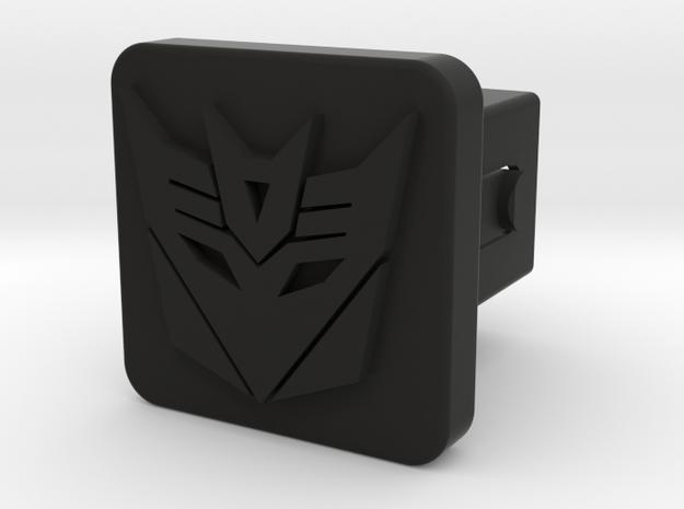 1.25Hitch - Decepticon in Black Strong & Flexible