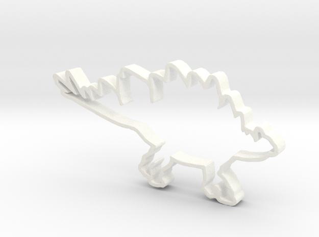 Stegosaurus cookie cutter