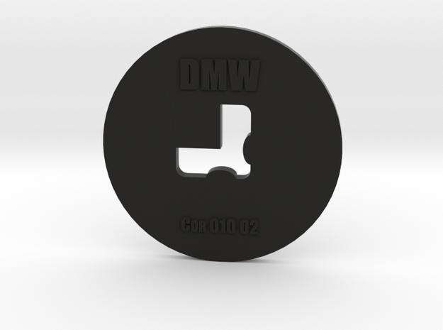 Clay Extruder Die: Corner 010 02 in Black Natural Versatile Plastic