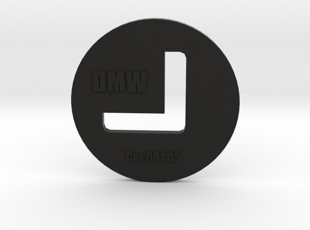 Clay Extruder Die: Corner 001 05 in Black Natural Versatile Plastic