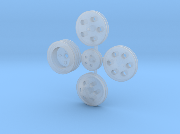 Billet Pulleys 1/24