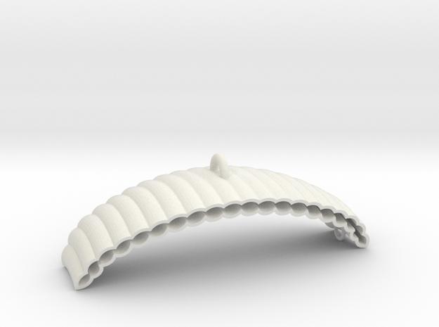 Parachute in White Natural Versatile Plastic