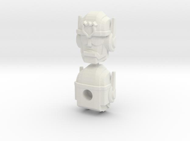 Chase Combiner Wars Head (4mm ball socket)