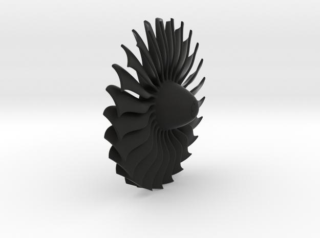 Turbine alliance 40mm in Black Natural Versatile Plastic