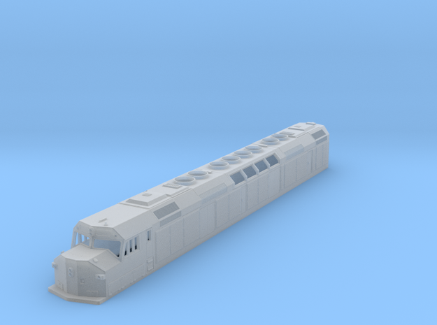 "N Scale F40DDPH ""A"" Unit w/Louvered Side Panels in Smooth Fine Detail Plastic"