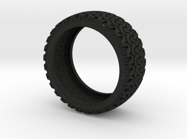 Tire in Black Acrylic