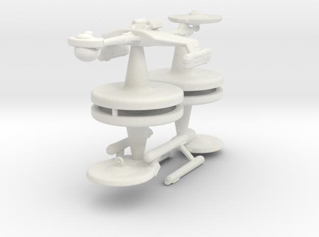 Game piece player ships in White Natural Versatile Plastic