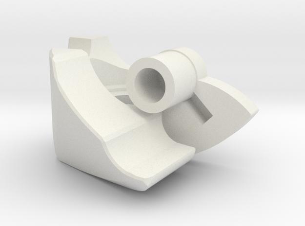 DD3 Shoulder Right for Peach Pai in White Natural Versatile Plastic