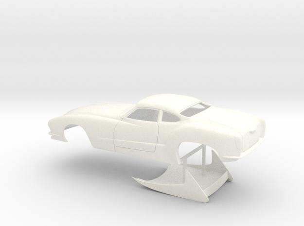 1/32 Outlaw Pro Mod Karmann Ghia No Scoop