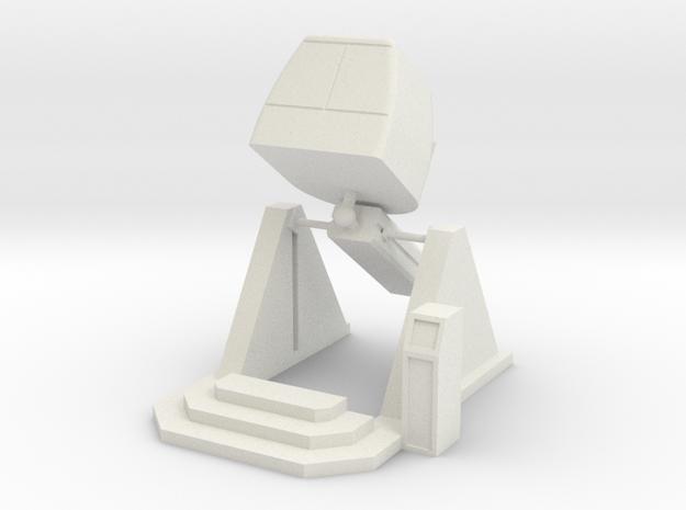 MOF - X-pilot 35-90 - 72:1 Scale in White Natural Versatile Plastic