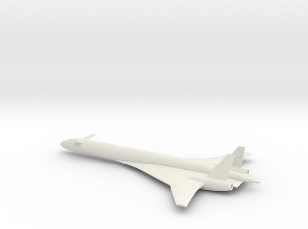 1/285 BOEING SONIC CRUISER in White Natural Versatile Plastic