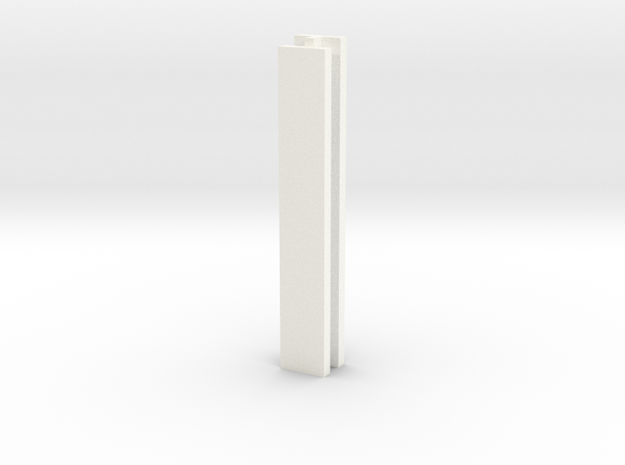 Set-1 Wall Connector in White Processed Versatile Plastic