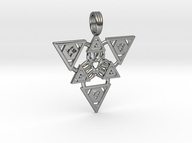 COSMIC FIRELORD in Premium Silver