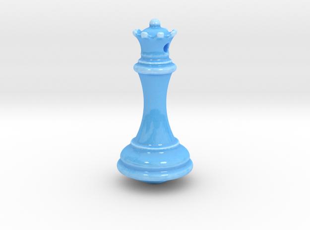 Ceramica Regina Base Scacchi in Gloss Blue Porcelain