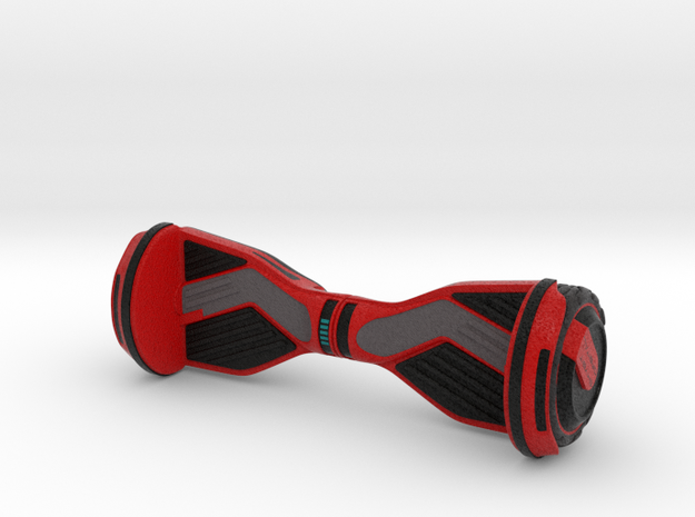Hoverboard_Type 1_Red in Full Color Sandstone