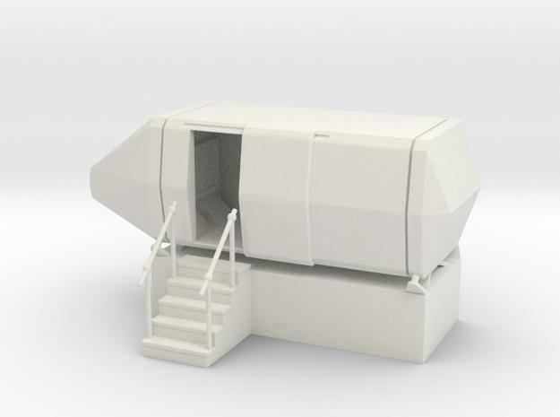 MOF I-360 Flight Simulator RH - 72:1 Scale in White Natural Versatile Plastic