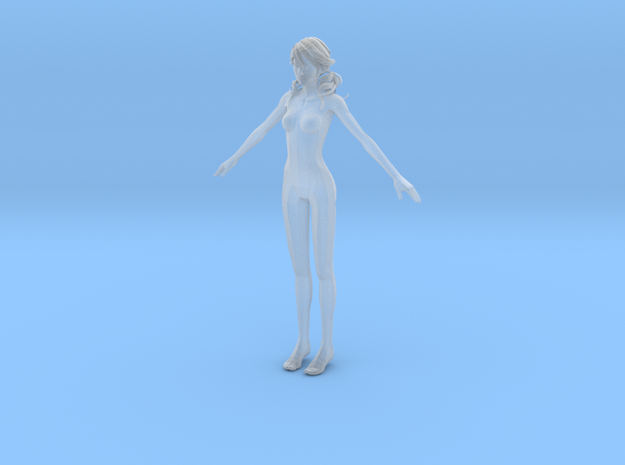 1/24 Female Body for Scale Modeling in Smooth Fine Detail Plastic