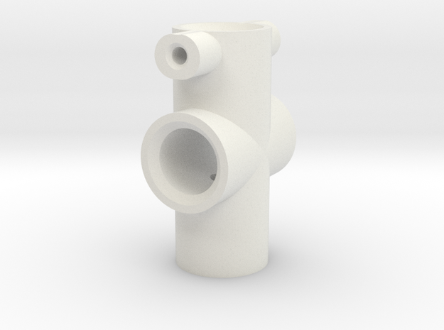 160805 100mm EyeRig Centre Shaft in White Strong & Flexible