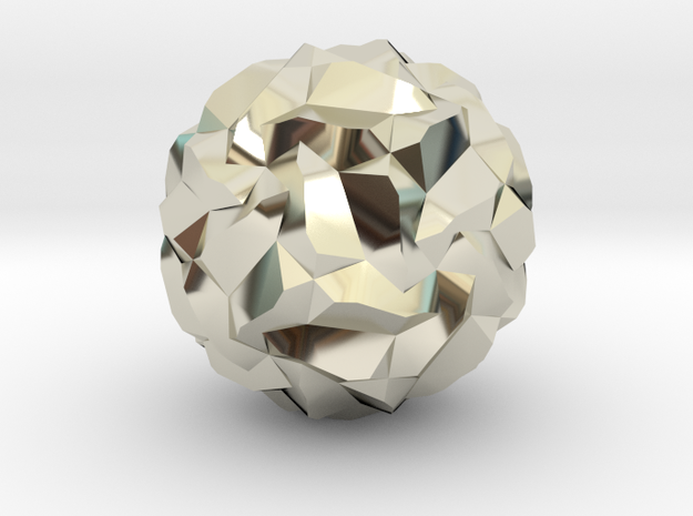 Stellated Pentagonal Hexecontahedron 3d printed