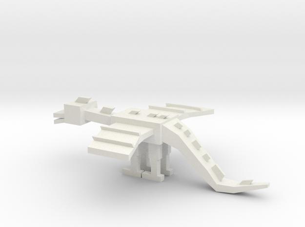 John's Enderdragon in White Strong & Flexible
