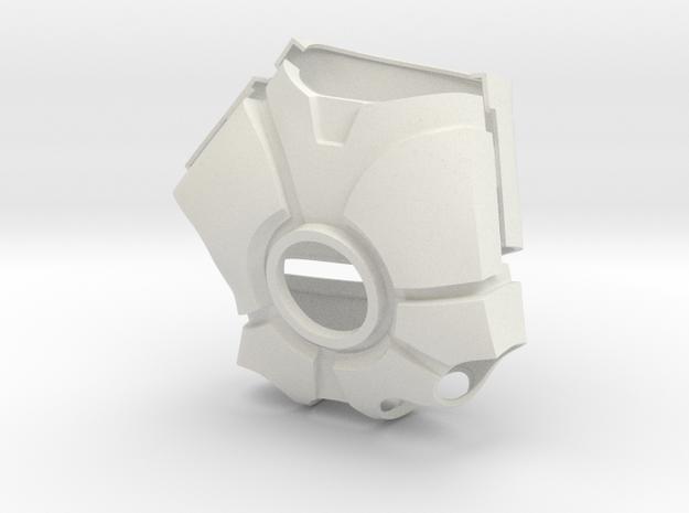 Metal Iron Man Right Palm Armor (Size Medium) in White Natural Versatile Plastic