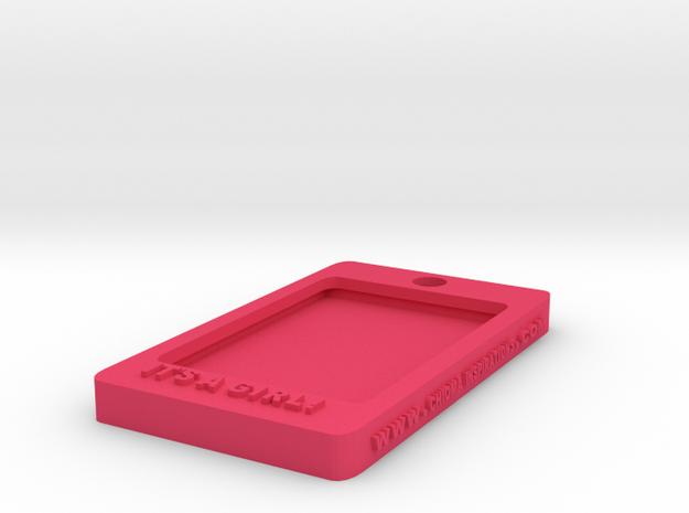 Tag-c-2 in Pink Processed Versatile Plastic