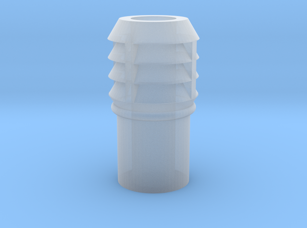 CO43 Chimney pot for Consall station in Smooth Fine Detail Plastic