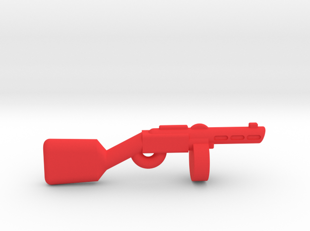 PPSH-41 in Red Strong & Flexible Polished