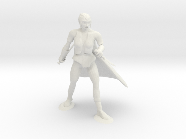 Drow Assassin 3d printed