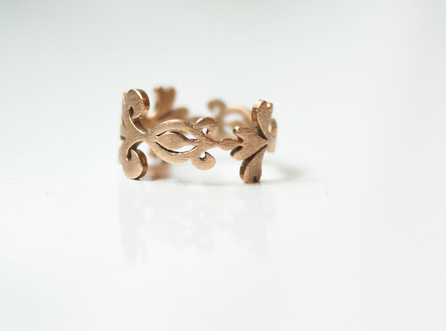 Scroll and Swirl Ring