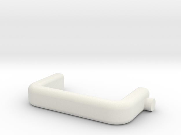 hand for 1/14 battery in White Natural Versatile Plastic