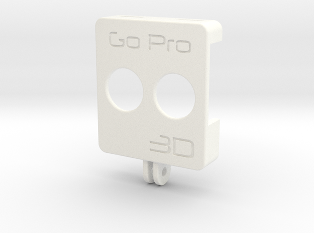 GoPro 3D rig front (1 of 2)