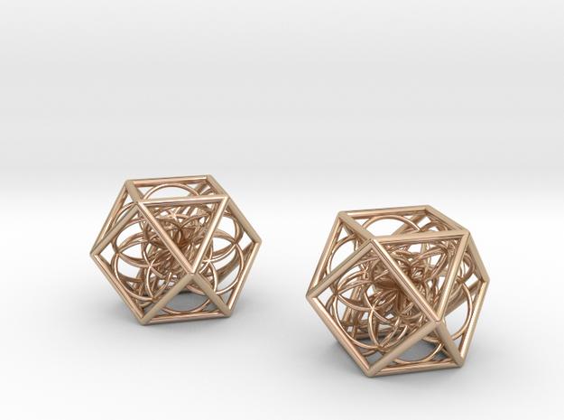 flower cube03 x2 p 3d printed