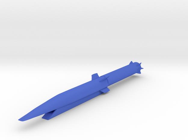 Waverider Boeing X-51   1/44 scale in Blue Processed Versatile Plastic