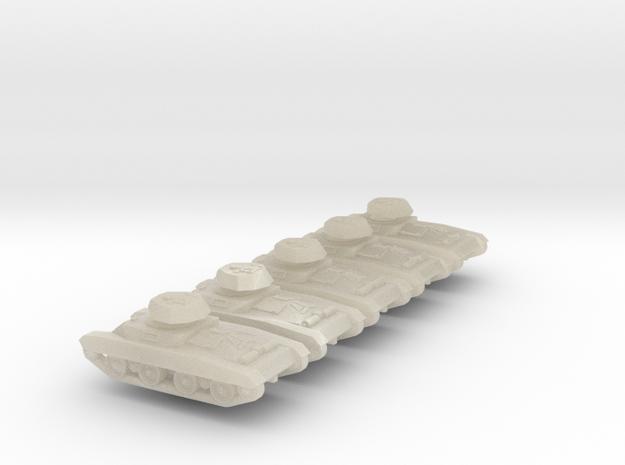 1/300 Carro Armato Celere Sahariano x 5 3d printed
