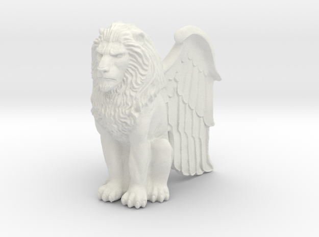 Lion, Winged, 42mm