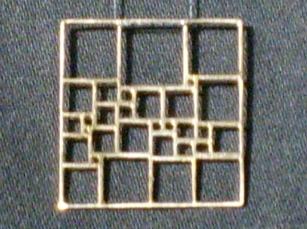 SPSS Pendant #3 in Natural Bronze