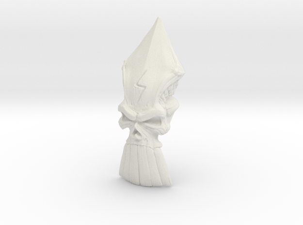 The Destiny Skull in White Strong & Flexible
