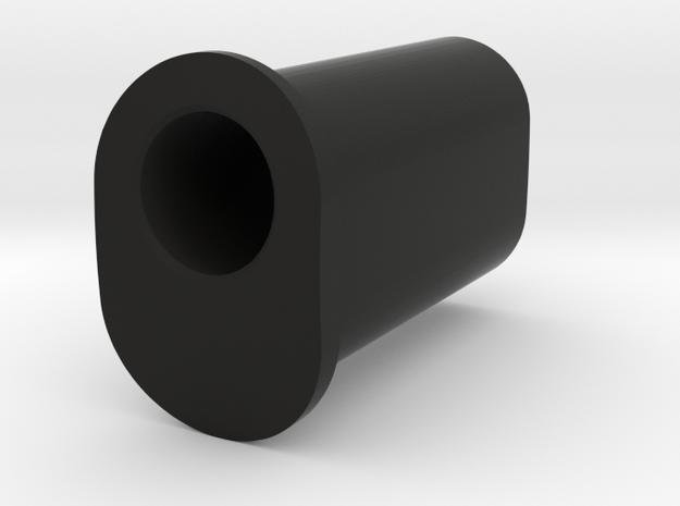 10 Deg Insert in Black Natural Versatile Plastic