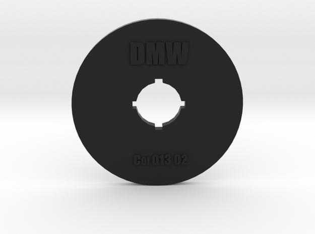 Clay Extruder Die: Coil 013 03 in Black Natural Versatile Plastic