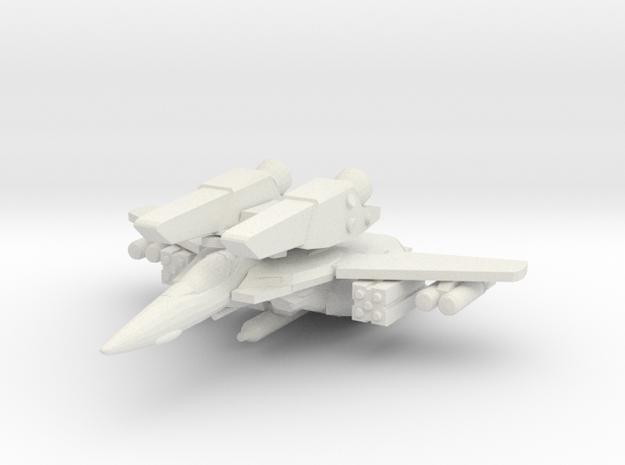 VF-1A Super 1/285 in White Natural Versatile Plastic