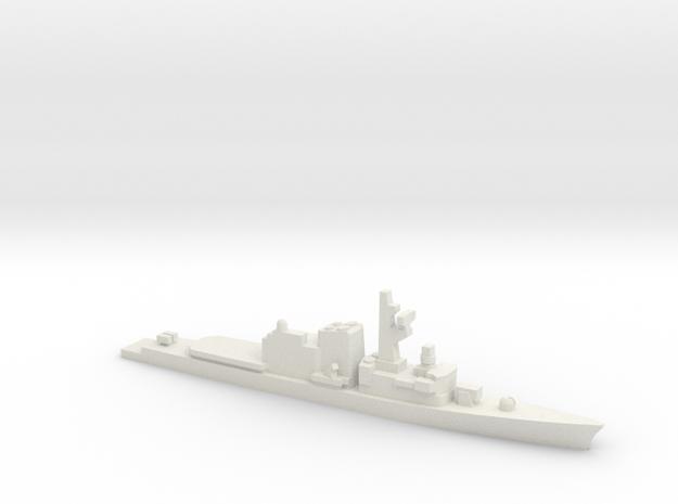 Hatsuyuki-class destroyer, 1/2400 in White Natural Versatile Plastic