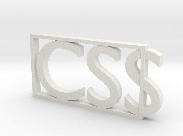 CSS  in White Strong & Flexible