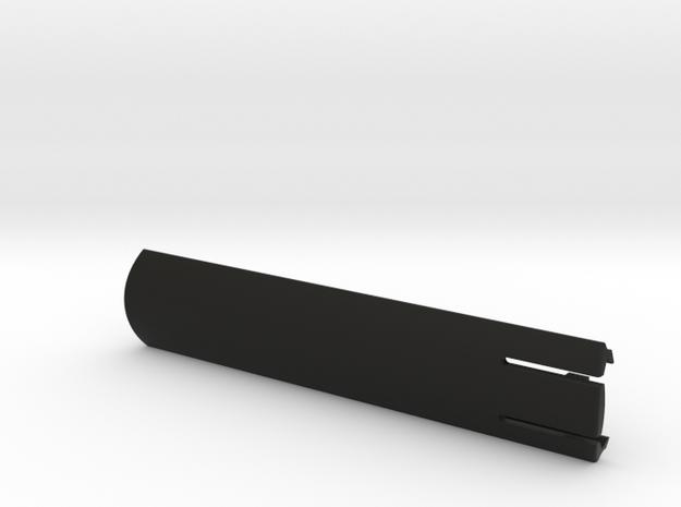 CUSTOM Picatinny rail cover in Black Natural Versatile Plastic