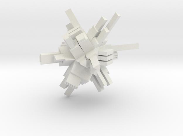 CITADEL 1 MEDIUM in White Strong & Flexible