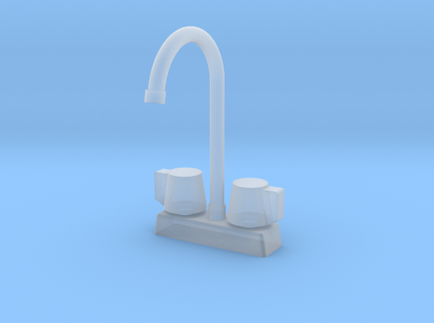 1:48 Commercial Faucet in Frosted Ultra Detail