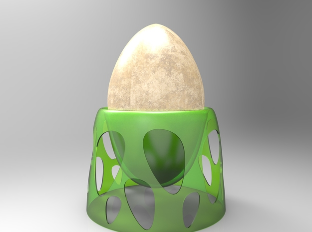 Suspended Egg 3d printed