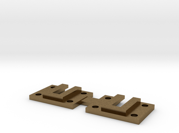 "3/4"" scale caboose wall bracket"