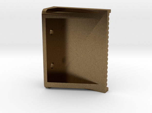 """3/4"""" scale boiler step in Natural Bronze"""